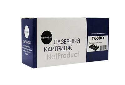 Тонер-картридж NetProduct N-TK-580Y - фото 4647