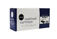 Тонер-картридж NetProduct N-TK-580Y