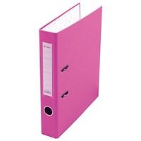 Папка-регистратор Lamark 80мм розовый