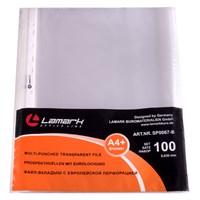 Файл-вкладыш Lamark с перфорацией А4+, 0,030 мм, 100 шт/упак