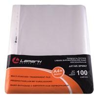 Файл-вкладыш Lamark с перфорацией А4+, 0,045 мм, 100 шт/упак