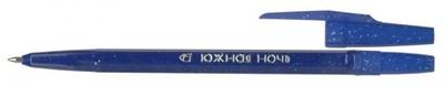 """Ручка масл. шариковая СТАММ РК21 """"Южная ночь"""" синяя - фото 4667"""