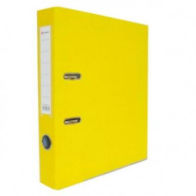 Папка-регистратор Lamark 80мм желтый - фото 4689