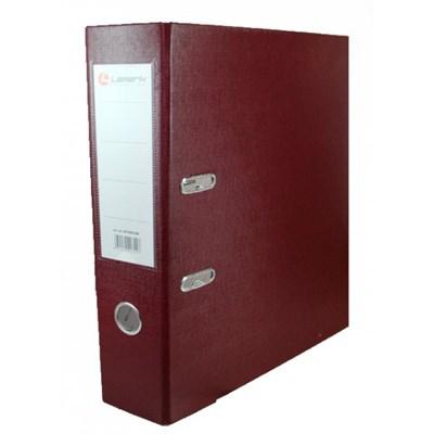Папка-регистратор Lamark 80мм бордовый - фото 4691