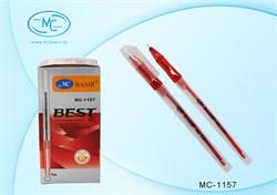 Ручка масл. шар. МС-1157-красный - фото 4706