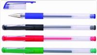 Набор гелевых ручек DOLCE COSTO 4 цв., 0,5 мм (красный, зеленый, синий, черный)